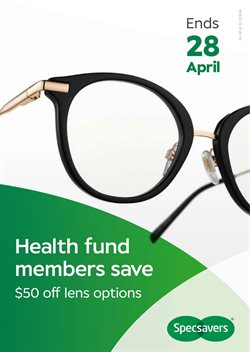 Offers from Specsavers in the Brisbane QLD catalogue