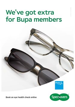 Offers from Specsavers in the Sydney NSW catalogue