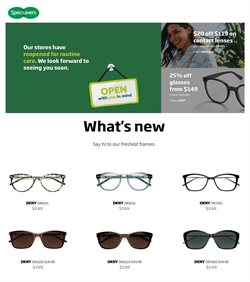 Specsavers catalogue ( More than one month )