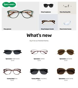 Specsavers catalogue ( 22 days left )