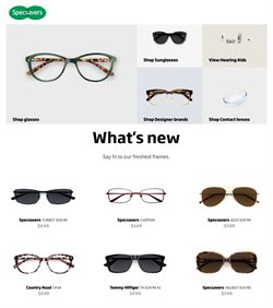 Specsavers catalogue ( Expired )