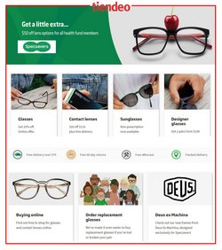Specsavers catalogue ( 10 days left )