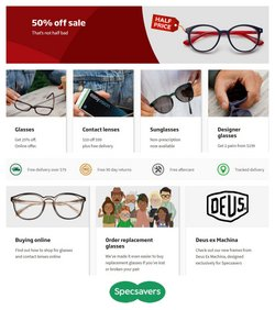 Specsavers specials in the Specsavers catalogue ( 21 days left)
