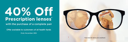 Offers from Bupa Optical in the Sydney NSW catalogue