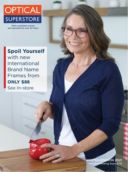 Optical Superstore specials in the Optical Superstore catalogue ( More than one month)