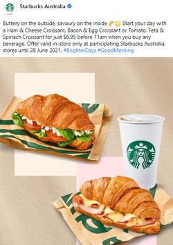 Starbucks coupon ( Published today)