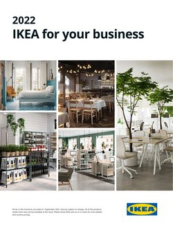 Homeware & Furniture specials in the Ikea catalogue ( More than one month)