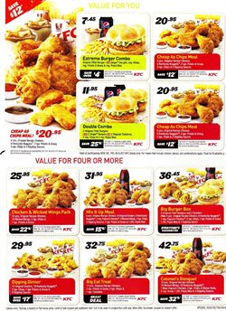 Restaurants offers in the KFC catalogue in Swan Hill VIC