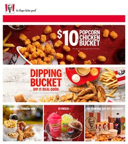 Offers from KFC in the Sydney NSW catalogue