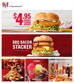 Offers from KFC in the Brisbane QLD catalogue