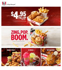 Restaurants offers in the KFC catalogue in Sydney NSW
