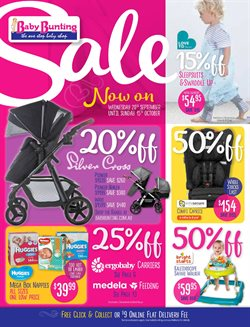 Toys & Babies offers in the Baby Bunting catalogue in Brisbane QLD