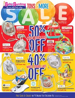 Toys & Babies offers in the Baby Bunting catalogue in Adelaide SA