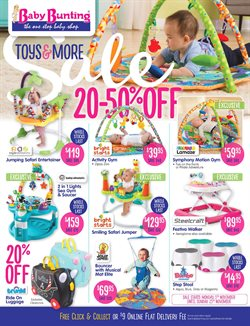 Toys & Babies offers in the Baby Bunting catalogue in Sydney NSW