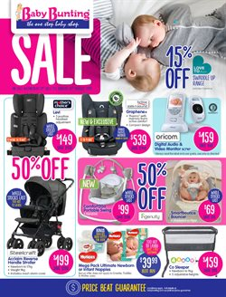 Kids, Toys & Babies offers in the Baby Bunting catalogue in Adelaide SA