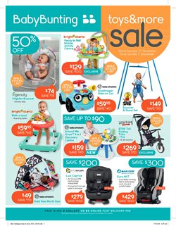 Kids, Toys & Babies offers in the Baby Bunting catalogue in Sydney NSW