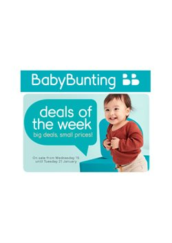 Offers from Baby Bunting in the Brisbane QLD catalogue