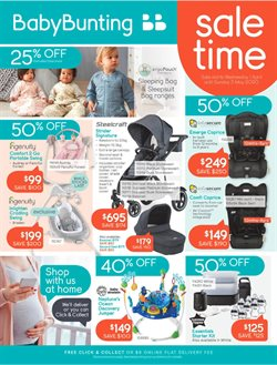 Kids, Toys & Babies offers in the Baby Bunting catalogue in Gold Coast QLD ( 27 days left )