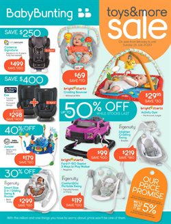 Kids, Toys & Babies offers in the Baby Bunting catalogue in Gold Coast QLD ( 1 day ago )
