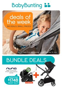 Kids, Toys & Babies offers in the Baby Bunting catalogue in Gold Coast QLD ( Published today )