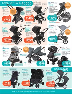 Kids, Toys & Babies offers in the Baby Bunting catalogue ( 10 days left )