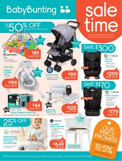 Kids, Toys & Babies specials in the Baby Bunting catalogue ( 20 days left)
