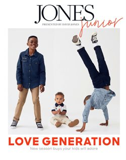 David Jones catalogue ( More than one month )