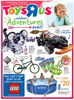 Majura Park Shopping Centre offers in the ToysRus catalogue in Canberra ACT