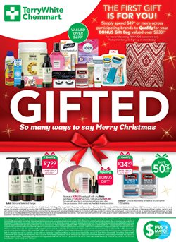 Offers from Chemmart Pharmacy in the Albury NSW catalogue