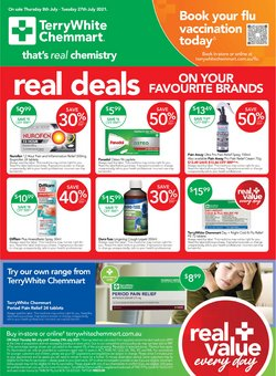 Chemmart Pharmacy specials in the Chemmart Pharmacy catalogue ( 2 days left)