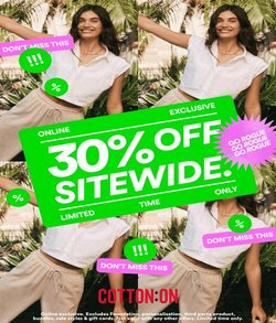 Cotton On specials in the Cotton On catalogue ( 5 days left)