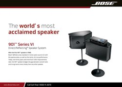 Offers from Bose in the Perth WA catalogue