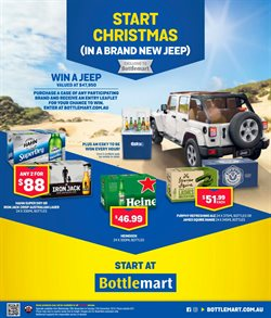 Offers from Bottlemart in the Dorrigo NSW catalogue