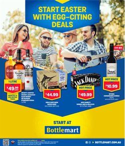 Easter specials in the Bottlemart catalogue ( 2 days left)