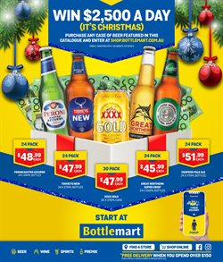 Bottlemart catalogue ( More than one month )