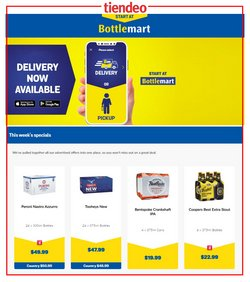 Bottlemart catalogue ( 3 days left )