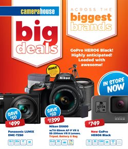 Broadway Shopping Centre offers in the Camera House catalogue in Sydney NSW