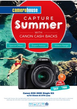 Offers from Camera House in the Sydney NSW catalogue
