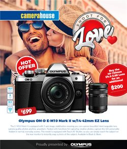 Valentine's Day offers in the Camera House catalogue in Sydney NSW