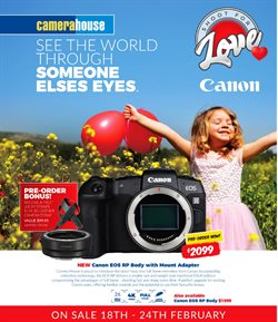 Electronics & Appliances offers in the Camera House catalogue in Swan Hill VIC