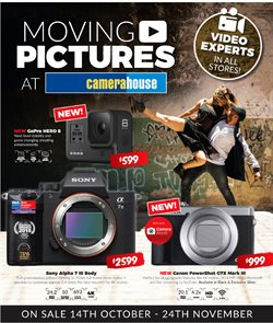 Offers from Camera House in the Perth WA catalogue