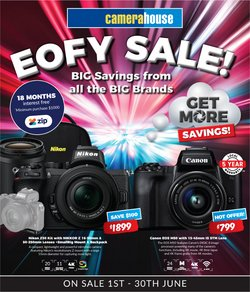 Electronics & Appliances specials in the Camera House catalogue ( 11 days left)