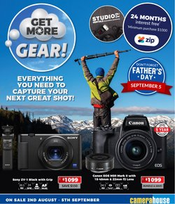 Electronics & Appliances specials in the Camera House catalogue ( 1 day ago)