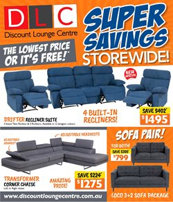 Discount Lounge catalogue ( Expired )
