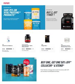 GNC Livewell catalogue ( Expired )