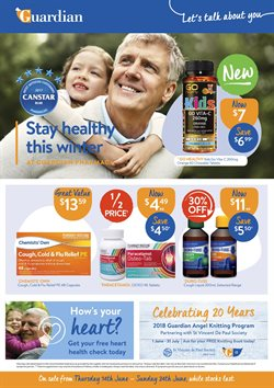 Offers from Guardian Pharmacies in the Brisbane QLD catalogue