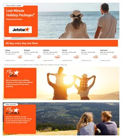 Travel & Leisure offers in the Jetstar catalogue in Sydney NSW ( Expires today )