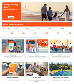 Travel & Leisure offers in the Jetstar catalogue in Sunshine Coast QLD ( 2 days ago )