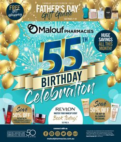 Pharmacy, Beauty & Personal Care offers in the Malouf Pharmacies catalogue in Brisbane QLD