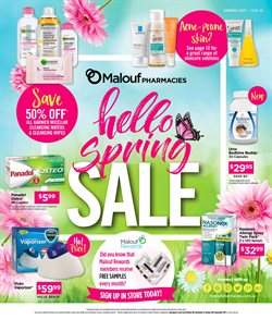 Offers from Malouf Pharmacies in the Brisbane QLD catalogue